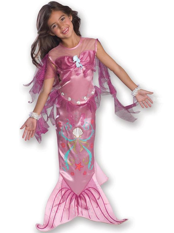 Child Pink Mermaid Costume
