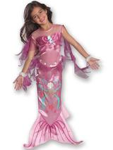 Child Pink Mermaid Costume