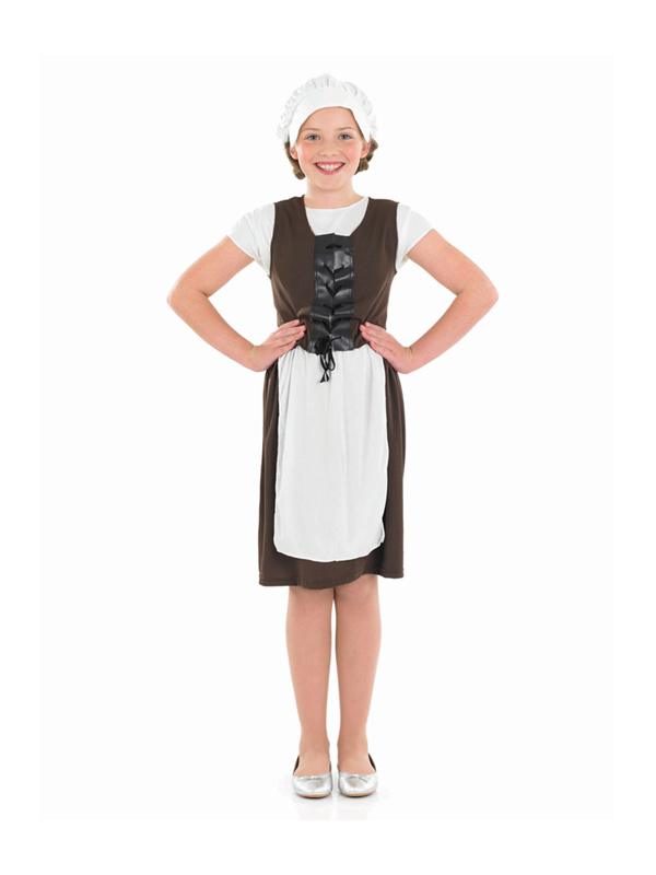 Girl's Tudor Maid Outfit