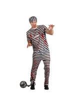 Zombie Convict Criminal Costume