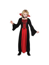 Girl's Vibrant Scarlet Witch Costume