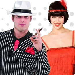 Gangster & Flapper Costumes