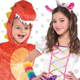 Children's Animals & Insects Costumes