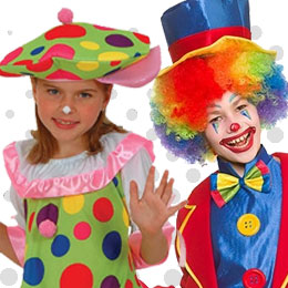 Children's Clowns & Circus Costumes