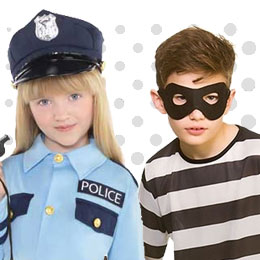 Children's Cops & Robbers Costumes