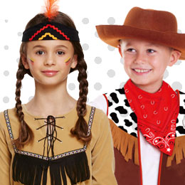 Children's Cowboys & Indians Costumes
