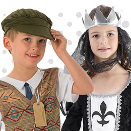 Children's Past Times Costumes