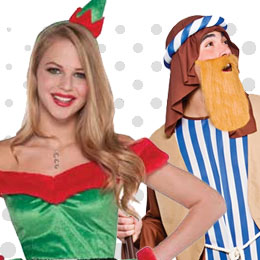 Santa Costumes And Fancy Dress Ideas For Men And Ladies