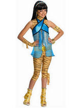 Monster High Cleo De Nile Girl's Costume