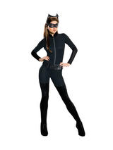 Ladies Sexy Catwoman Jumpsuit Costume