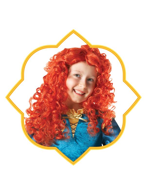 Child Deluxe Princess Merida Wig