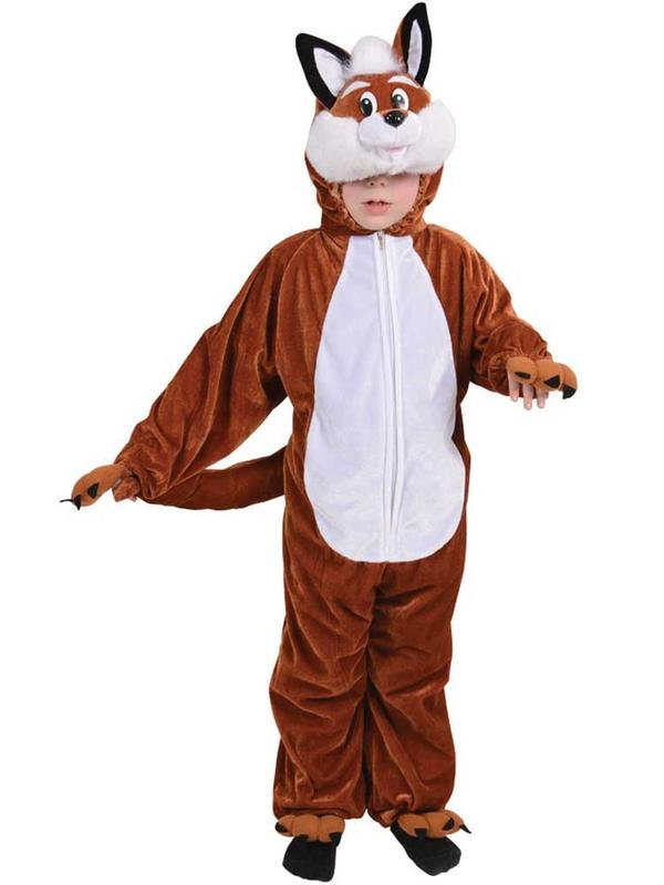 Child Unisex Fantastic Fox Costume Thumbnail 1