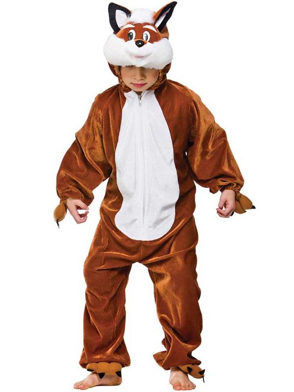 Child Unisex Fantastic Fox Costume Thumbnail 2