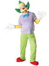 Krusty The Clown Men's Costume
