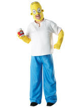 Homer Simpson Men's Costume