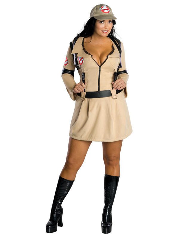 Sexy Ghostbusters Ladies Costume Thumbnail 2