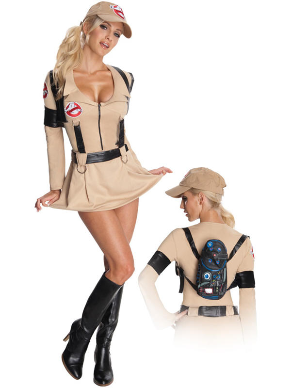 Sexy Ghostbusters Ladies Costume Thumbnail 1