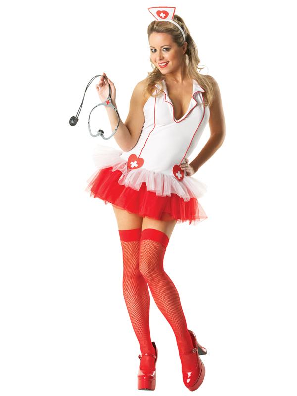 miss medic sexy nurse tutu ladies costume  plymouth fancy
