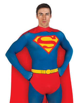 Superman 2nd Skin Men's Costume Thumbnail 2