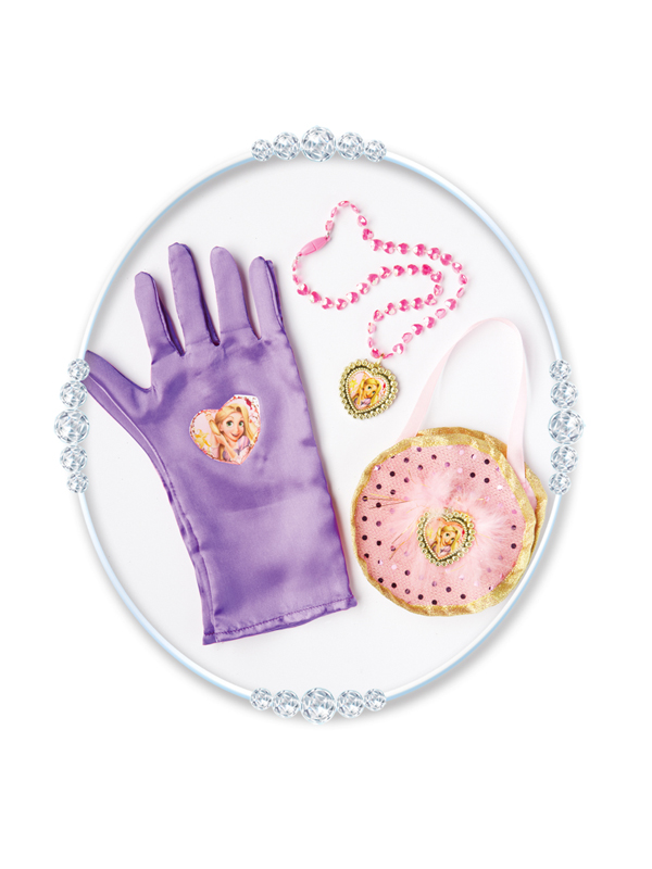 Disney Rapunzel Glove and Accessory Box Set