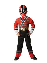 Power Ranger Samurai Boy's Costume