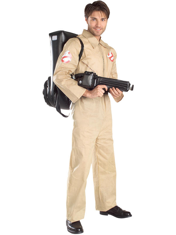 Ghostbusters Men's Costume with Proton Pack Thumbnail 2