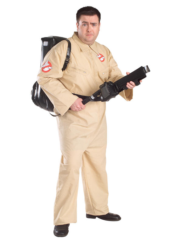 Ghostbusters Men's Costume with Proton Pack Thumbnail 1