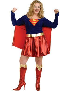 Superwoman Ladies Costume Thumbnail 2