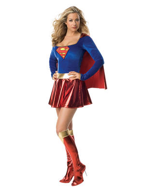 Superwoman Ladies Costume Thumbnail 1
