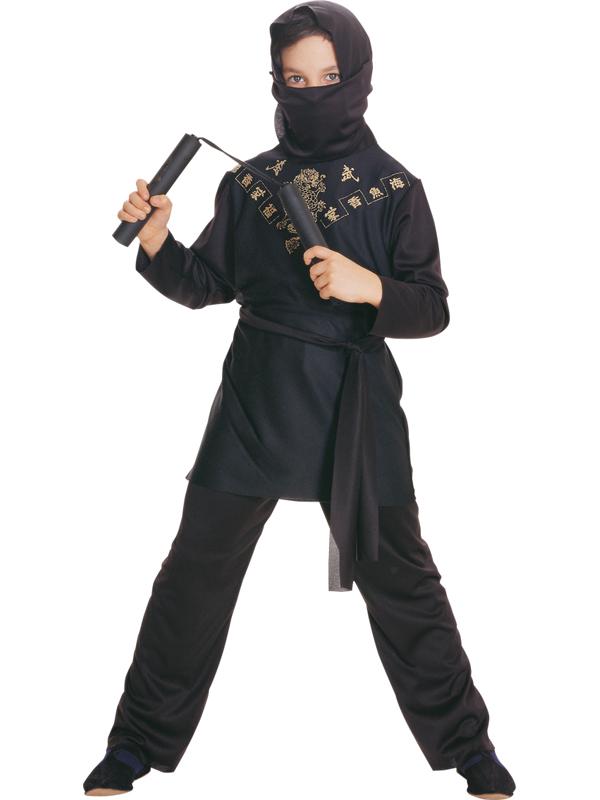 Child Black Ninja Costume