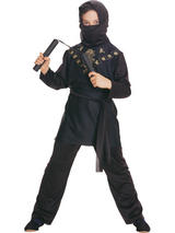 Child Black Ninja Costume