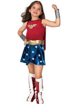 Wonder Woman Girl's Deluxe Costume