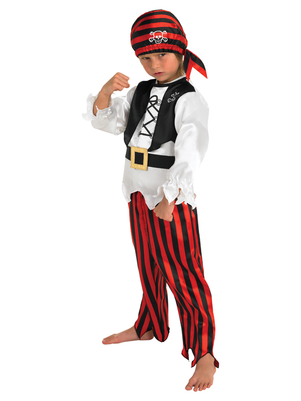Child Boy Raggy Pirate Costume
