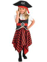 Child Girl Pirate Costume