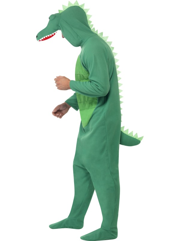 ... Adult Crocodile/Alligator Costume with Hood Thumbnail 2 ...  sc 1 st  Plymouth Fancy Dress! & Adult Crocodile/Alligator Costume with Hood | Plymouth Fancy Dress ...
