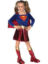 Supergirl Deluxe Girl's Costume