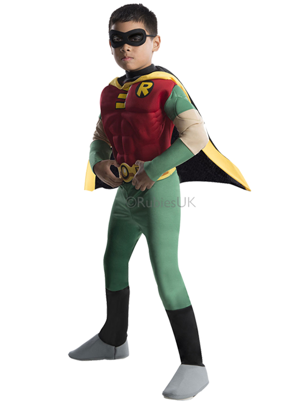 Child Muscle Chest Robin Costume