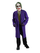 The Joker Boy's Dark Knight Costume