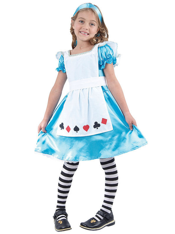 Girl's Alice In Wonder Costume