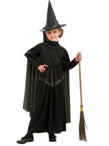 Child Wicked Witch Costume Wizard Of Oz
