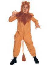 Wizard of Oz Cowardly Lion Boy's Costume