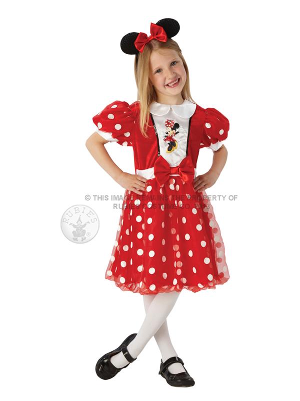 Disney Red Glitz Minnie Mouse Costume