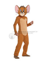 Tom and Jerry Boy's Jerry Costume