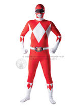 Power Rangers Second Skin Men's Costume