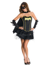Batgirl Corset And Tutu Ladies Costume