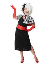Cruella De Ville Costume & Wig