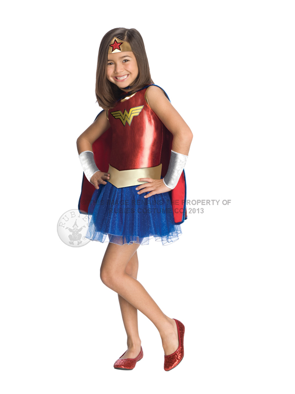 Child Wonder Woman Tutu Costume