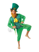 Adult's Irish Leprechaun Costume
