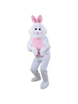 Big Head Easter Bunny Mascot Costume