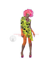 Toxic Zombie Babe Ladies Costume